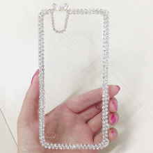 Buy Rhinestone Cover Case SONY XA XA1 Ultra Luxury Bling Ear Transparent Shell Hard Phone Case Sony Xperia C4 M4 Clear Case for $3.99 in AliExpress store