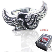 Naruto/Recon Corps/Death Note/Final Fantasy metal pendant model toy alloy fashion Rotation anime finger ring