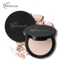 NICEFACE Professional Face Pressed Powder Matte Finish Long lasting Loose Powder Contour Palette Brightening Minerals Makeup Set