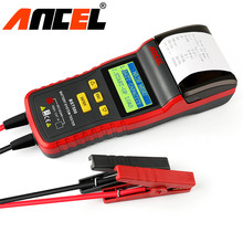 12V&24V Car Battery Tester Analyzer ANCEL BST500 With Printer for All Vehicles Heavy Duty Truck Car Battery diagnostic tool(Hong Kong)