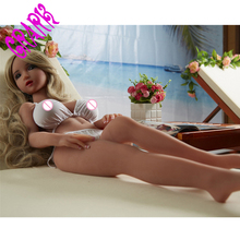 real silicone sex dolls robot japanese anime love doll realistic toys for men big breast 100cm sexy mini vagina adult life full(China)