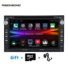 "Android 4.4.4 1024*600 Quad core 1.6GHz 16GB 7"" Car DVD Player GPS Stereo Radio For Volkswagen Jetta Polo Bora Golf 4 Passat B5"