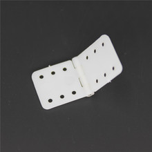 Wholesale 1000pcs/Lot Plastic Nylon Pinned Hinges 11x25.5 mm RC Model Airplane Parts Replacements