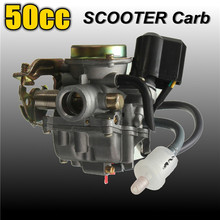 Buy 50CC Scooter Carburetor Moped Carb 4-Stroke GY6 SUNL ROKETA JCL Qingqi Vento for $22.41 in AliExpress store