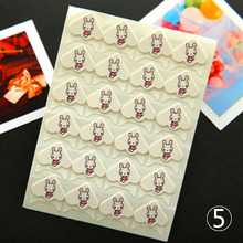 24 pcs/lot New DIY Cartoon Cute Animals Corner Cute Paper Stickers for Photo Albums Frame Decoration Scrapbooking(China)
