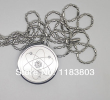 free shipping On Sale - 2000-3000cc Ion Power Energy Quantum Scalar Pendant Stainless Steel Energy Balance Necklace Energy Card