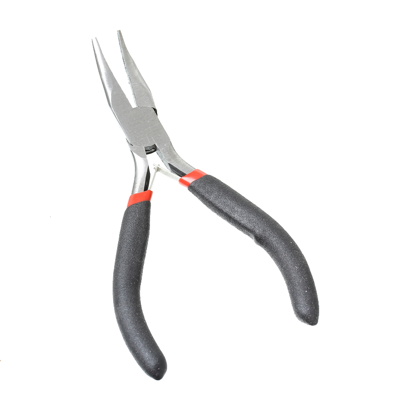 "2016 High Quality Black Stainless Steel Needle Nose Pliers Curved Jewelry Making Tools12.5cm(4 7/8""),1 Piece(B33701)(China (Mainland))"