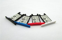 Brand New original Quality SIM Card Tray Holder Adapter For Nokia N9 Phone Black ,Blue,Red, Black