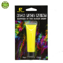 UV Glow Black light Face and Body Paint 4 colors in option(China)