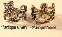 rings finger Fashion popular Jewelry for women Girl's eight legs vintage design 2 color option CN post