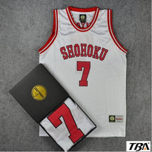 NEW  Basketball throwback jerseys SlamDunk Number 7 Jersey space jam Sleeveless Quick Dry Basketball Clothes Hot sale