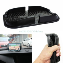 Soft Car Auto Skidproof Pad Mat Holder Stand Black For Phones Cellphone