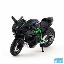 MAISTO 1/18 Scale Motorbike Model Toys KAWASAKI 2HR Diecast Metal Motorcycle Model Toy New In Box For Gift/Kids/Collection