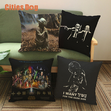 Europe and the United States film Decorative pillows cushion Star Wars Decor Pillow cushions christmas decorations for home(China)