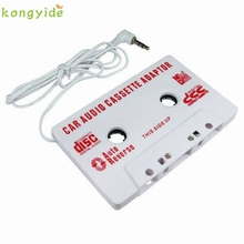 pretty 3.5mm Car Stereo Cassette Tape Adapter For iPhone For iPod MP3 Audio CD Player