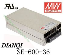 Original MEAN WELL power suply unit ac to dc power supply 600W 36V 16.6A SE-600-36  MEANWELL good quality