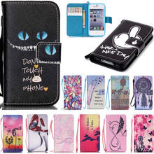 New Arrival Fashion Beautiful Rose Flower Tower Flip Leather Wallet Cover Case For Apple iPhone 4 4s 5 5s SE 5C 6 6s 6Plus Plus(China)