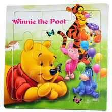 children's jigsaw puzzle toys baby kids wooden paper cartoons animals puzzles son daughter childhood early educational toy gifts