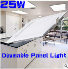 HOT!Dimmable LED Downlight 4W 6W 9W 12W 15W/25W Squre Ultrathin SMD 2835 Ceiling Panel Lights white / Warm White