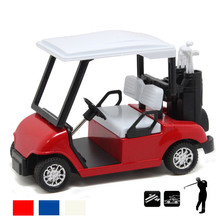 Discount sale High simulation Golf carts model, 1:32 alloy pull back toy car,Classic antique cars,Golf course,free shipping(China)