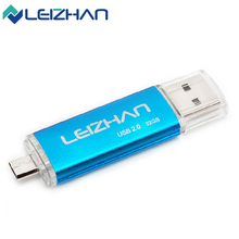 Promotion Universal Micro Phone OTG USB Flash Drive 4gb 8gb 16gb 32gb 64gb Pen Drive USB 2.0 Pendrive Android Memory Stick UDisk(China)