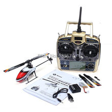 WLtoys V966 Power Star 1 6CH 6 axis Gyro Flybarless RC Helicopter(China)