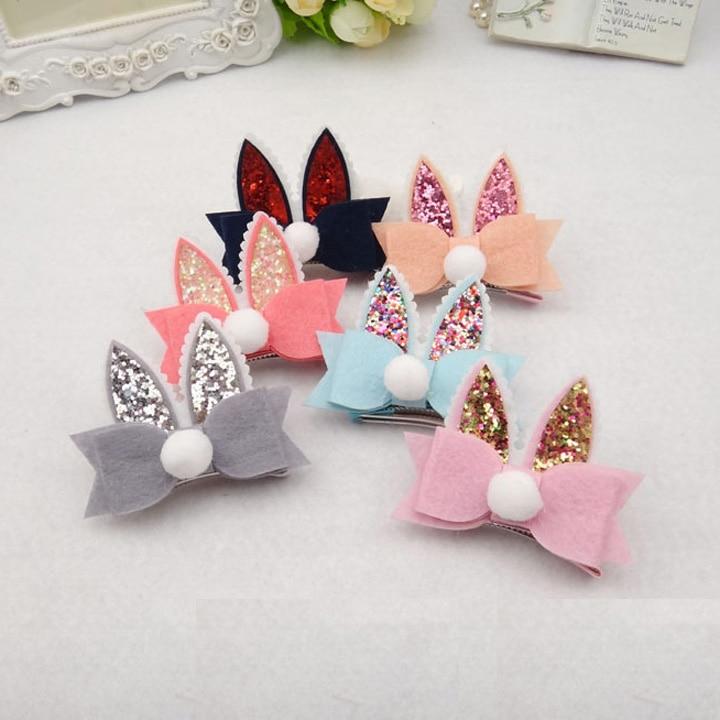 Hair Accessories Easter Headband Easter Bow Barrette Hair Bow Spring Vinly Bow Easter Hair Clip Plaid Pastel Bow Hair Clip Big Bow