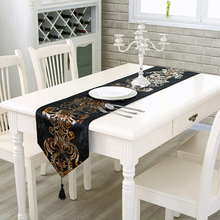 Home Table Deocr Cotton Linen Runner Classic Modern Tea Table Refrigerator Wardrobe Flag Textile 2017ing