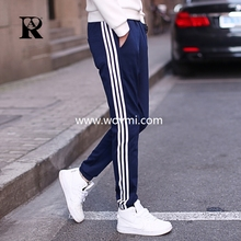 2017 AR fashion Men's trousers joggers hip hop fitness pantalon homme casual pant  sweatpants M-5XL full size line pattern pant