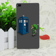C1960 The Ocarina Of Time Travel Transparent Hard Thin Case Skin Cover For Huawei P 6 7 8 9 Lite Plus Honor 6 7 4C 4X G7