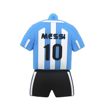 Pen drive  black/blue  cartoon football clothes 4gb 8gb 16gb 32gb 64gb 128gb usb 2.0 flash drive memory stick  gift pendrive