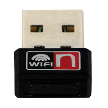 MTK 7601 Chip Desktop/PC 150M Mini USB Wireless Network Card WiFi LAN Receiver USB 2.0 Port Support Windows 2000/ XP/ Vista(China)