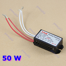 F85 Free Shipping 50W 220V Halogen Light LED Driver Power Supply Converter Electronic Transformer