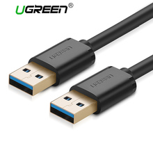 Ugreen USB to USB 3.0 Super Speed Type A Male to Male USB Extension Cable for Radiator Hard Disk Car MP3 Webcam Digital Camera