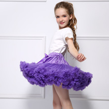 1 2 3 4 5 6 7 8 9 10 Year Baby Girls Tutu Skirts 2017 New Spring Summer Autumn Kids Skirts for Party Ballet Dance Perform(China)