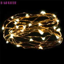 High Quality   3M 30LED Button Cell Powered Silver Copper Wire Mini Fairy String Lights
