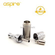 Hot Sale Aspire Vaporizer ET S Glass Version Ego Atomizer Pyrex Replacement Tank 3Ml Ego Glassomizer E-cig Atomizer/Clearomzier(China)