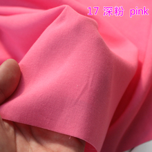 "Pink Silk Artificial Cotton Fabric Skirt Scarf Apperal Hijab Rayon Fabric 60"" Wide Sold By The Yard Free Shipping"