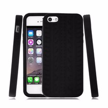 Rubber Tyre Silicone Black Soft Case Cover for Apple iPhone 4 4S 5 5S 5C 6 Plus 6s Plus SE 7 Plus