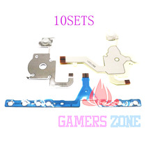 10sets Direction Cross Button Left Key Volume Right Keypad Flex Cable for Sony PSP 3000(China)