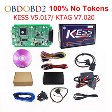 HW V5.017 KESS V2.23 + KTAG V7.020 OBD2 Manager Tuning Kit KESS 5.017 No Tokens Use Online K-TAG 7.020 For Car/ Truck/Tractor