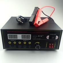 Full Automatic 12V/24V 400AH Lorry Car Battery Charger LED Display Pulse Repair Type Large Power Quick Charger