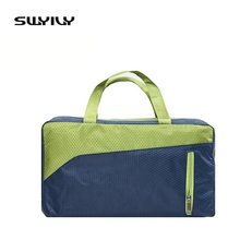Waterproof Unisex Gym Bag Wet Dry Separated Beach Bag Swimming Bag Mixed Color Sports Bag(China)