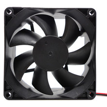 NEW Big promotion Portable 1pcs 80X80X25MM 12V 4Pin DC Brushless PC Computer Case Cooling Fan 1800PRM Drop shipping(China)