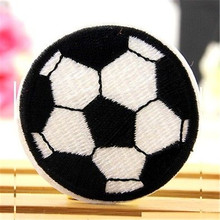 FD3612 new Children Football Badge Applique Embroidered Sticker Sewing DIY Patch 1pc