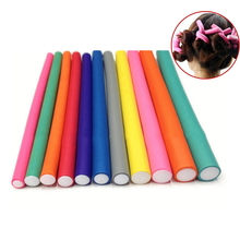 10 Pcs/Set Hair Curler Magic Air Hair Roller Curling Sticks Soft Foam Twist Flexi Rods Hair DIY Styling Tool HS11