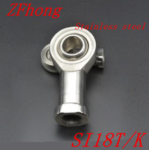 1pc si18t/k 18mm M18*1.5 stainless steel  right hand female thread rod end bearing