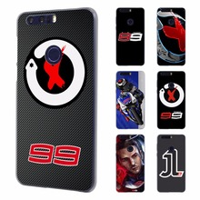 jorge lorenzo lorenzo 99 Logo red X Style Ultra Thin phone case for Huawei honor 8 lite V8 7 case for Honor 4C 5C 4X 5X