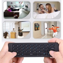 Mini 2.4G Wireless Keyboard Infrared Remote Learning Remote Control Controller within 10m For Andriod TV Box HTPC Free Shipping