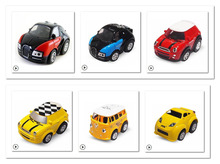 Newest 4.5cm Mini stunt car model Electric Remote Control Car Light indoor toy For Children Kids boys child VS petrol rc car(China)